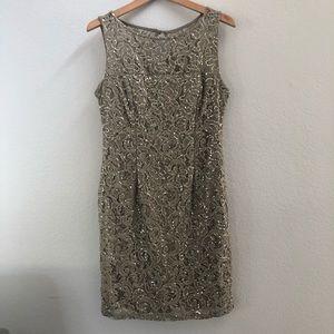 Super Cute Sequin Lace Dress